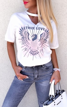 True Love * stylowy T-SHIRT...