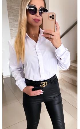 Klasyczna biała koszula *...