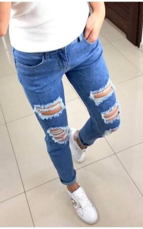 STYLOWE ELASTYCZNE jeansy...