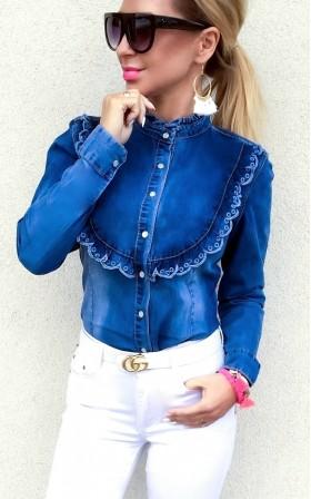 LUCY * PIĘKNA jeansowa...
