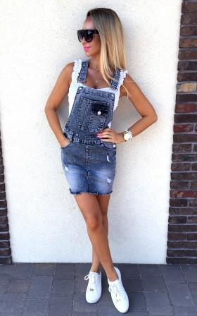 LOUIS * SZARA jeansowa...